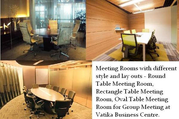 Meeting and Discussion Rooms