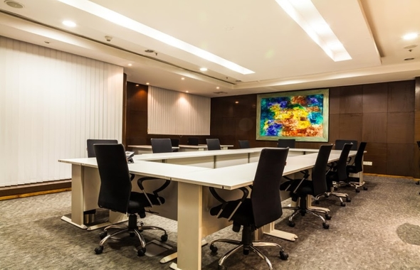fully furnished conference rooms