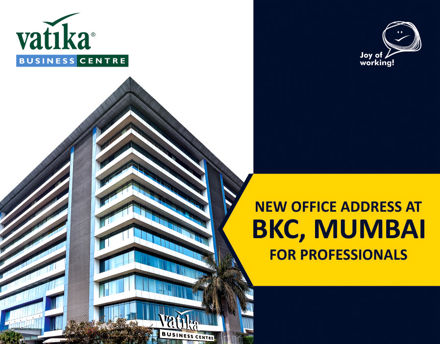 Your New Business Address At BKC Mumbai For Professionals