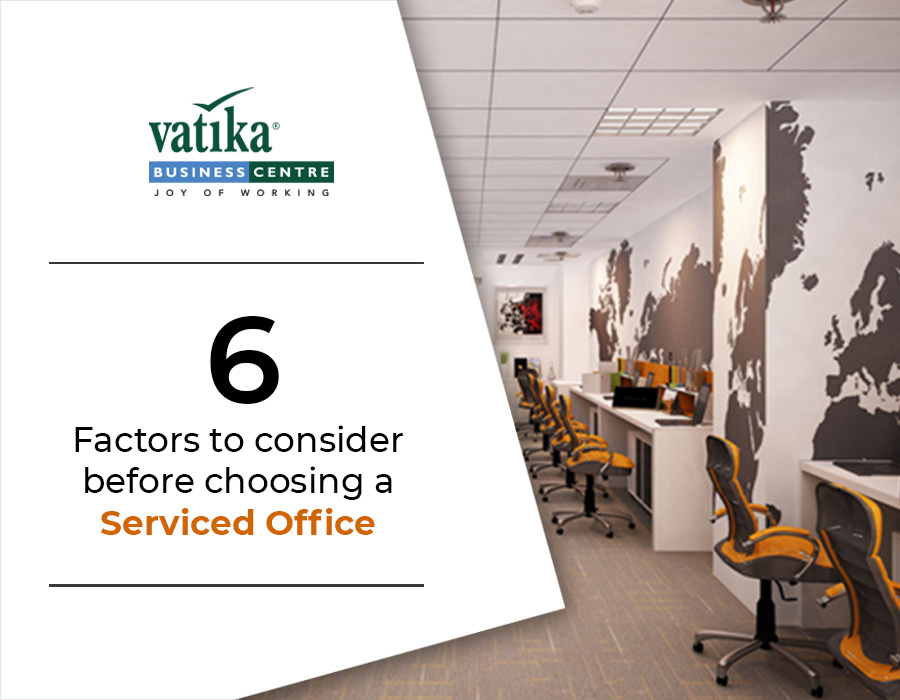 6 Factors to Consider Before Choosing a Serviced Office