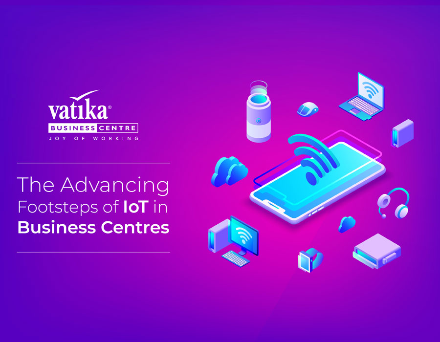 the advancing footsteps of iot in business centres