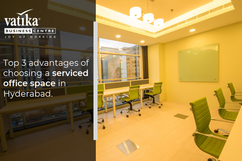 Top 3 Advantages of Choosing a Serviced Office Space in Hyderabad
